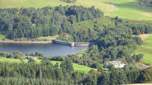 Dam, Castlehill Reservoir