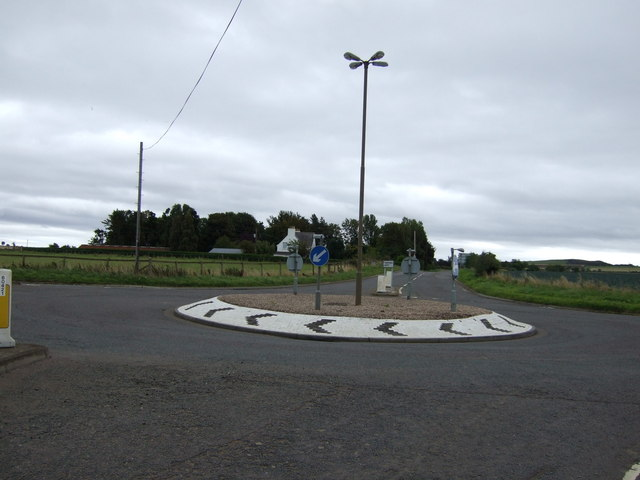 Roundabout on the A6137