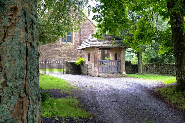 Lych gate Lowgill Church