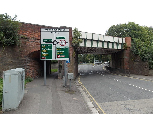 Castle Street railway bridge, Salisbury