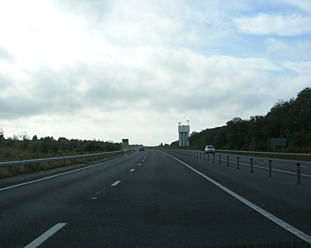 A428 Cambourne Bypass & Cambourne Water Tower