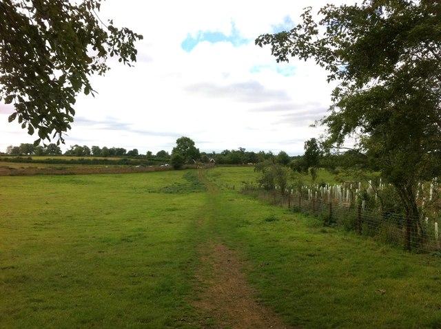 Bridleway to Upper Harlestone
