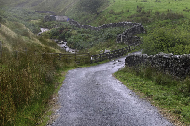 Middle Gill and Middle Gill Bridge