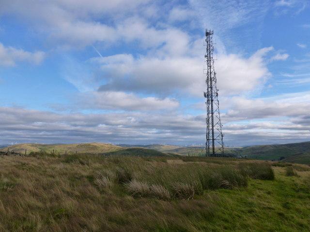 Mast on Craighead Hill