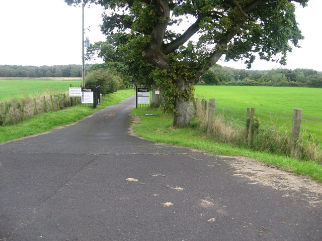 The entrance to Westlands Adventure Centre