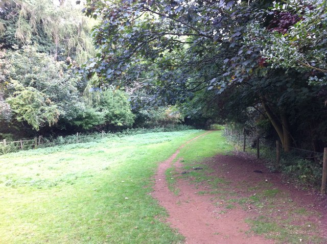 Bridleway to Lower Harlestone