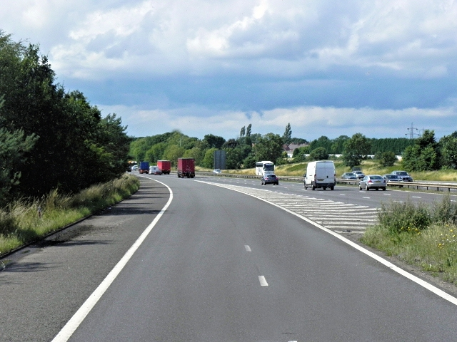 M6, Entry Sliproad at Junction 3