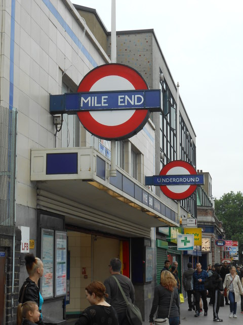 Mile End tube station