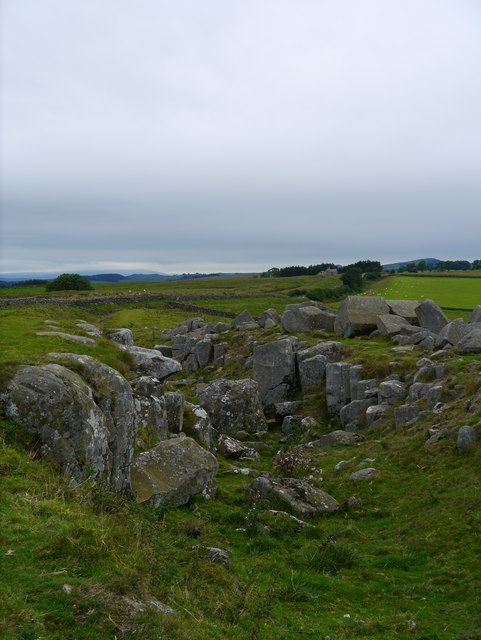 Hadrian's Wall: Near Milecastle 30