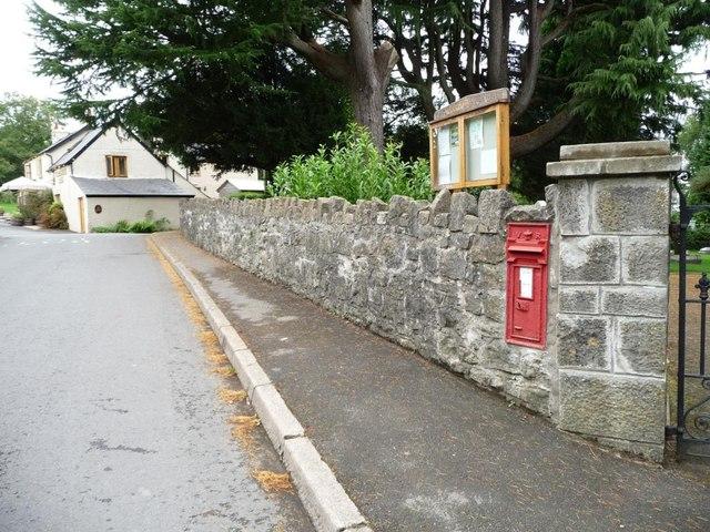 Victorian postbox, Coed-y-paen