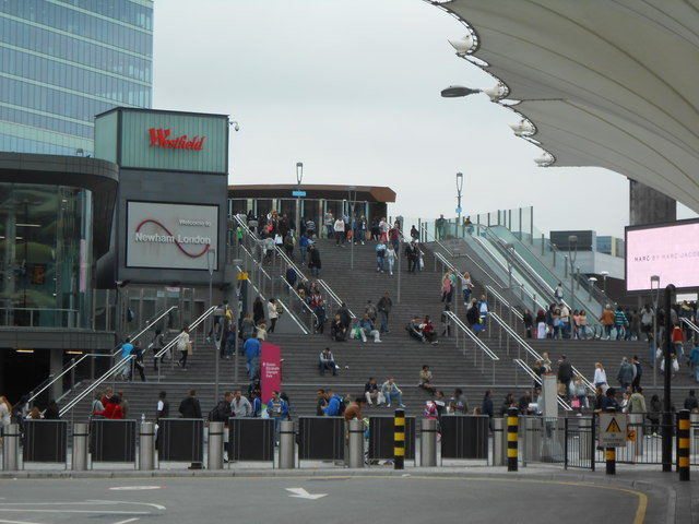 Steps leading to Westfield
