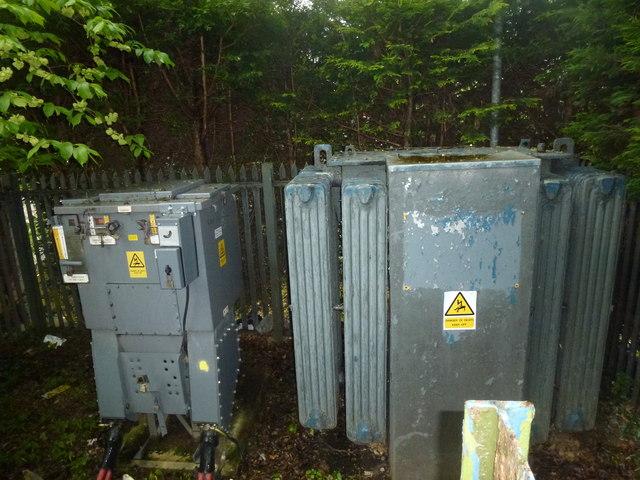 Substation switchgear and transformer