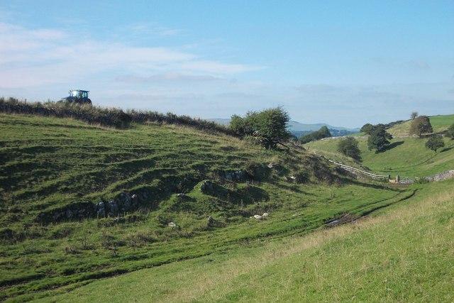 Country scene near Sterndale Moor