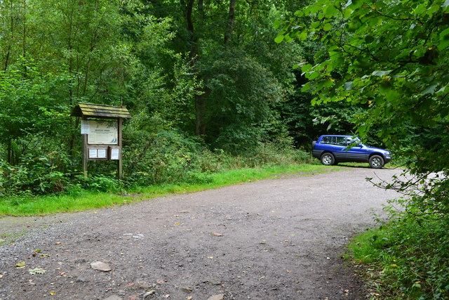 Car park in Bentley Wood