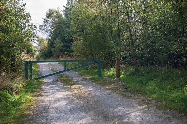 Forest Road off School Lane Gisburn Forest