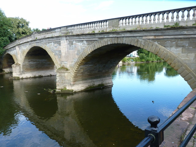 Bridge over the River Severn at Bewdley