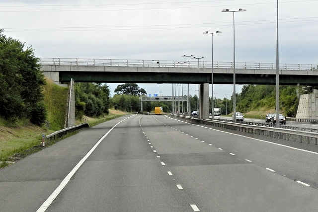 M6 Toll, Bridge at Packington Lane