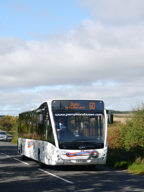 Perryman's Buses Optare Versa On Service 60