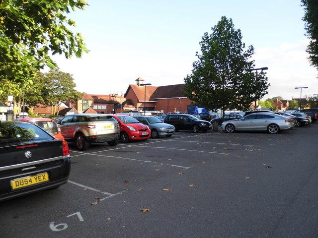 Waitrose car park, Henley on Thames