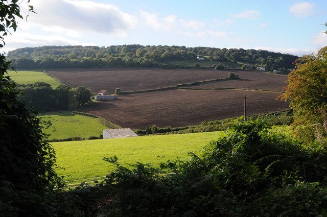 Farmland near Staunton