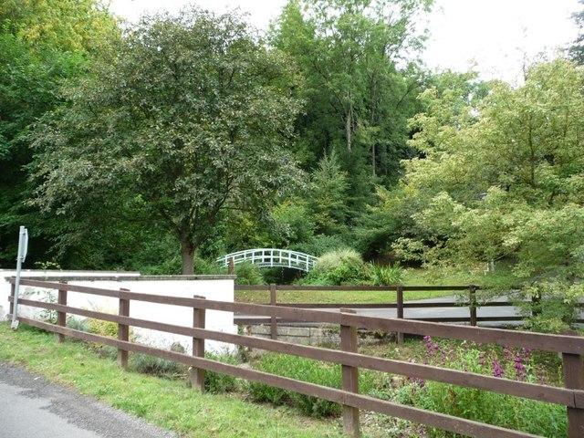 Footbridge over Dowlais Brook
