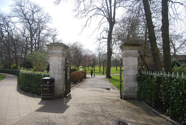 Manor Park entrance