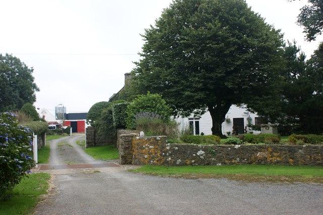Entrance to Lochmeyler Farm