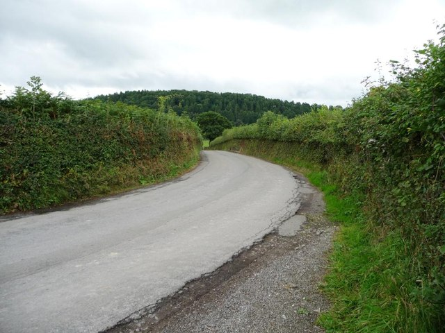 The road to Coed-y-paen