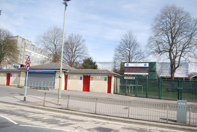 Aldershot Football Ground