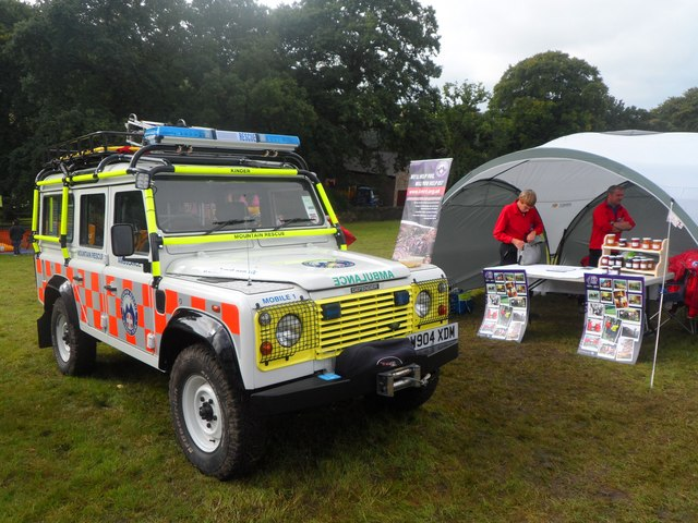 Kinder Mountain Rescue Team Stall