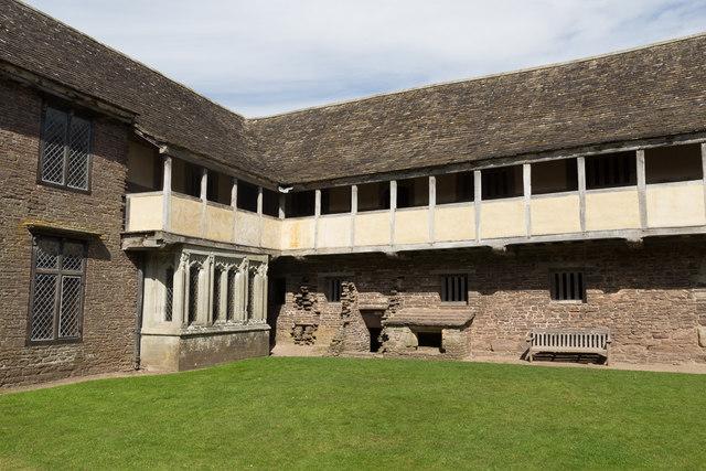 Tretower Court, Wales