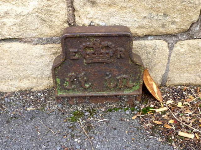 Bench Mark in London Road West, Swainswick/Batheaston