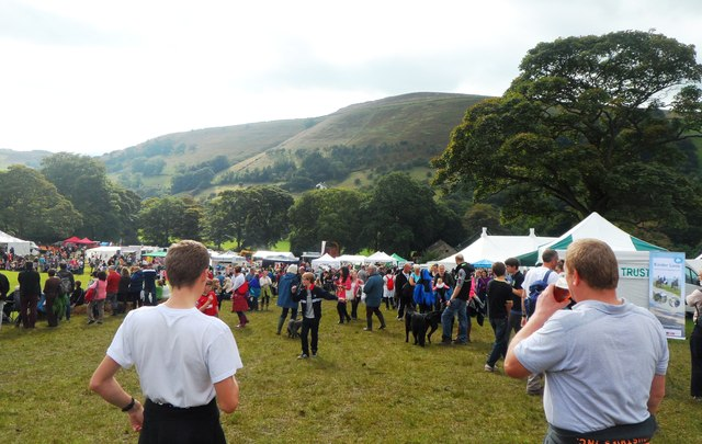 View from the Beer Tent - Hayfield Country Show