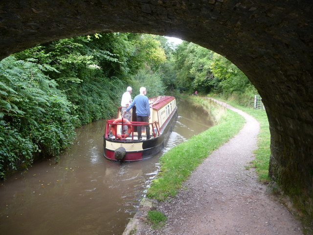 On the Mon. & Brec. Canal near Gilwern in September