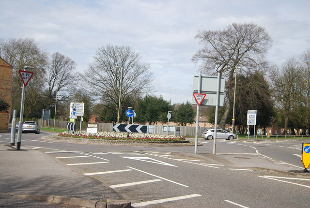 Ordnance Roundabout, A323