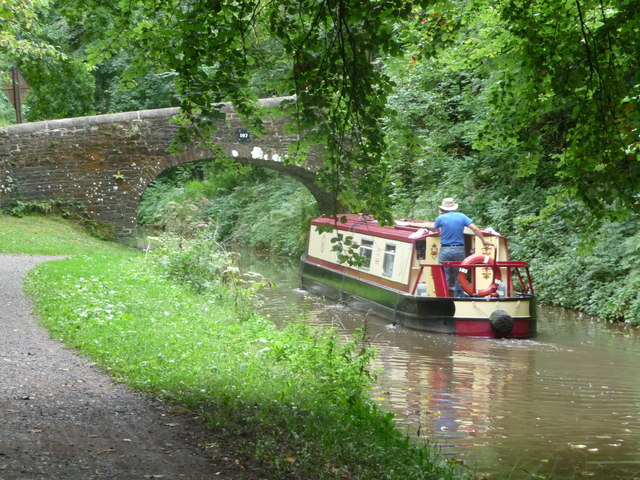 Bridge 107 on the Mon. & Brec. Canal near Gilwern