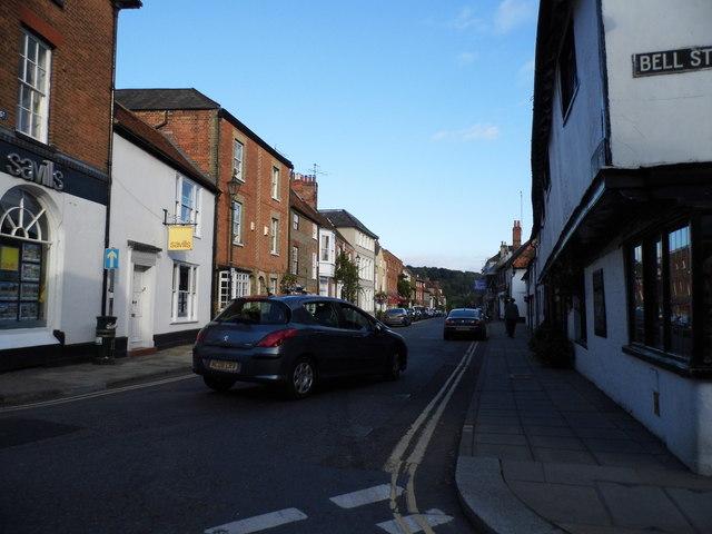 New Street at the corner of Bell Street, Henley