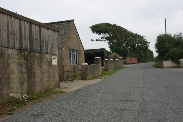 Barns at Castle Hill near Hayscastle