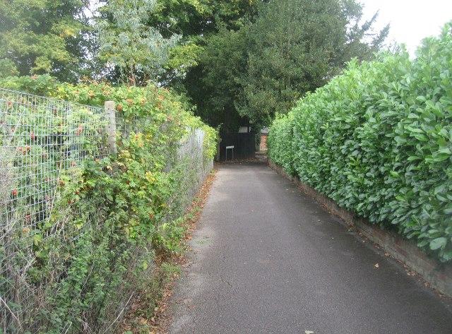 Castle Field Path