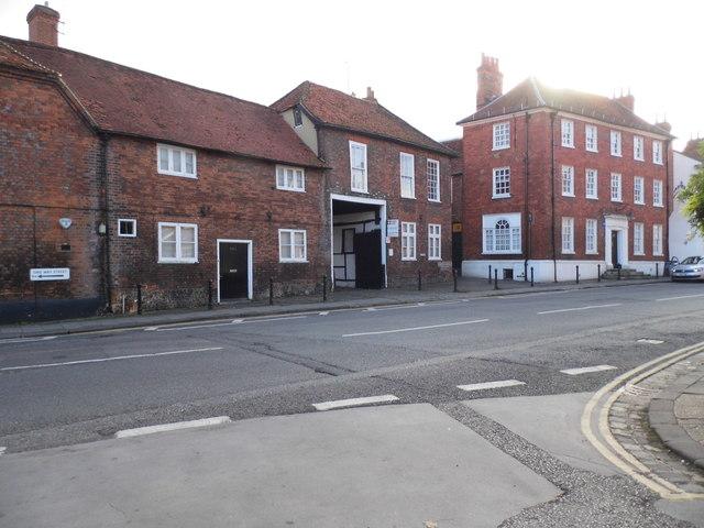 Old houses on Thameside, Henley
