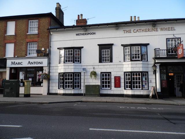 The Catherine Wheel hotel, Hart Street