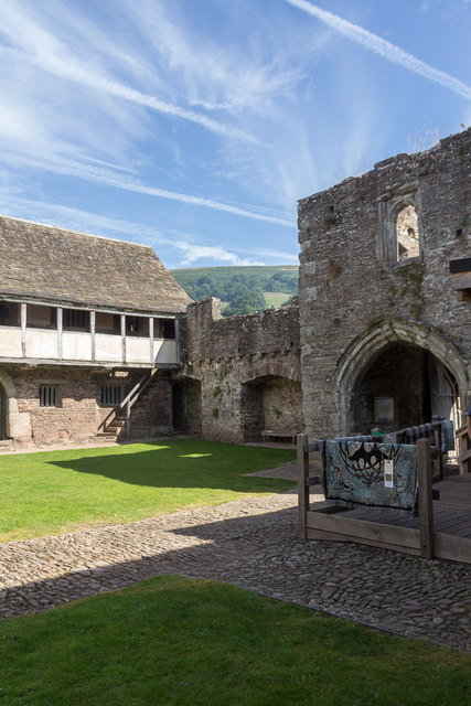 Tretower Court, Wales