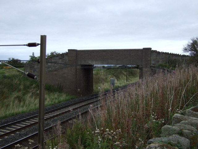 Bridge over the East Coast Main Line