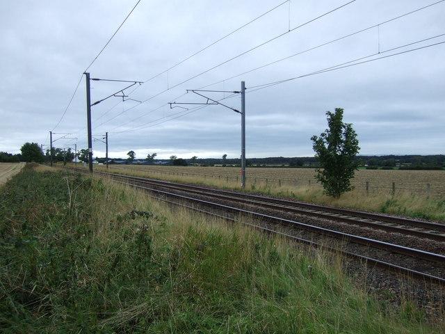 East Coast Main Line near Drem