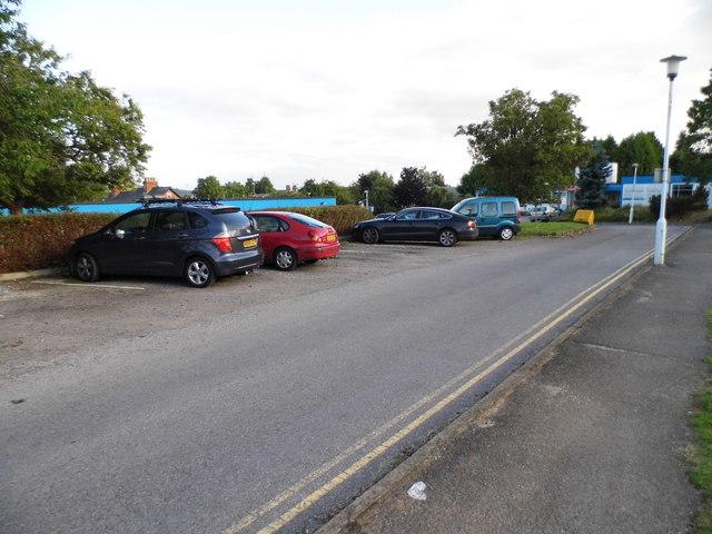 Access road through Townlands Hospital, Henley
