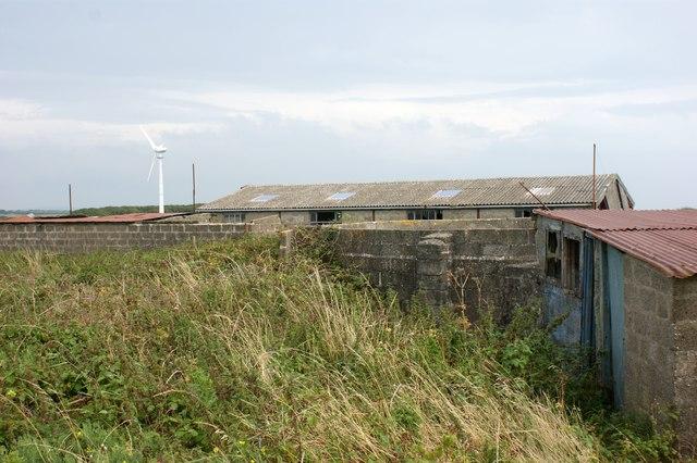 Field barns near Llandeloy