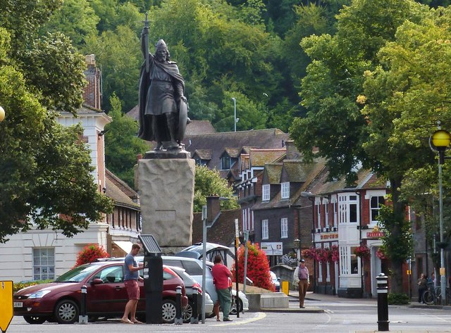 Alfred the Great,  Winchester