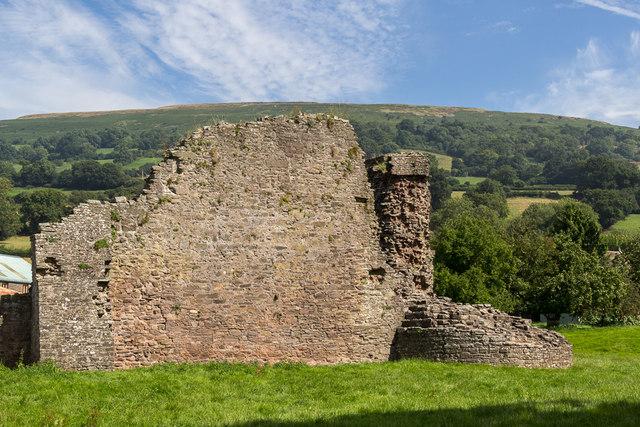Tretower Castle, Wales