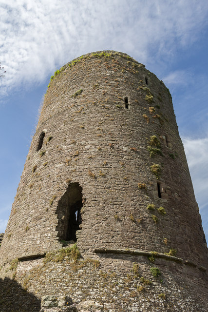 Tower of Tretower Castle, Wales