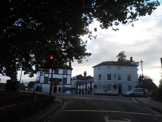 Thameside at the junction of Hart Street, Henley
